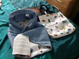 Bugaboo cameleon 3 andy warhol blue butterflies hood and tote bag brand new with tags