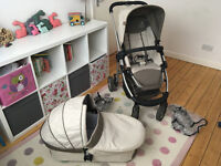 icandy Cherry Pram and Carrycot set