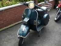 LML VESPA 2 STROKE manual, only 258 miles