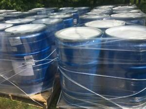 55 Gallons Barrels / Drums of Acrylic Driveway Sealer Asphalt Parking Lot Sealant 8000 Sq ft per drum when Spraying