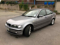 2004 BMW E46 320D ES 5 DOORS GREY, LONG MOT, GOOD RUNNER, NEW TYRES, BARGAIN!!!