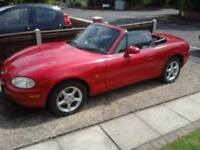 MAZDA MX-5 Car - Red Convertible / Soft-Top
