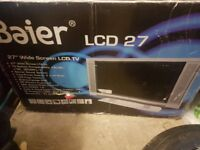 "Baier 27"" lcd TV"