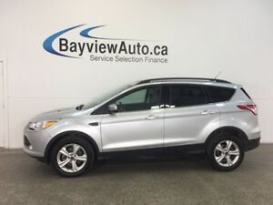 2014 Ford ESCAPE SE- ECOBOOST|4WD|HTD LTHR|REV CAM|SYNC|LOW KM!