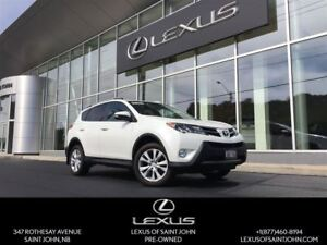 2013 Toyota RAV4 Limited. Leather, Sunroof