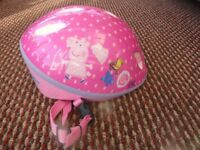 Peppa Pig childs cycle bike safety helmet
