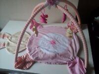 Baby playing mat pink