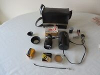 135mm Lens, NONDIGITAL,plus accessories in case for sale
