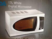 Microwave, brand new still in box, 700W