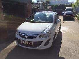 Vauxhall Corsa Limited Edition FSH White LOW MILES