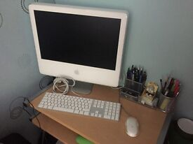 iMac (Does not work, needs new fan) with mouse and keyboard