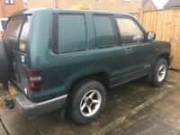 1999 SWB Isuzu Trooper 3.1