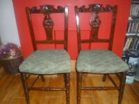 Pair of Chairs ( £12 each )