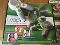 Leap TV, 2 controllers & 6 games age 3-8 educational fun