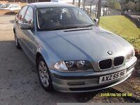 BMW 318..BLUE GREEN..FULL MOT