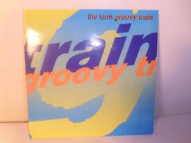"""THE FARM """"GROOVY TRAIN"""" VINYL 7"""" SINGLE"""