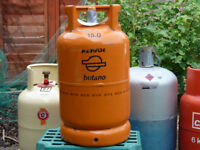 Repsol Butane Gas Cylinder for visiting Spain, Portugal / Algarve. Jumbo Connector