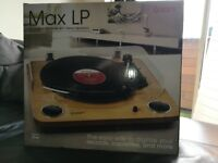 ION MAX LP - Convert Records to Digital, Built in Stereo Speakers (NEW)