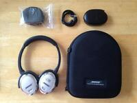 Bose QC 3 Noise Cancelling Headphones with new EarPads