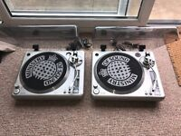 Ministry of Sound Turntable(Pair)! MOSTT1000! Excellent Condition! FOR SALE!