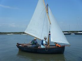 Character boats lune pilot 14 cruising dinghy 1991.