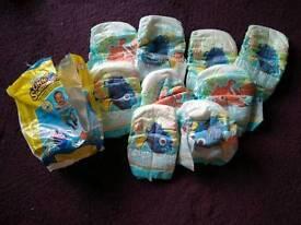 HUGGIES little swimmers swim nappies. Size 2 - 3