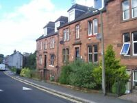 3 bedroom Victorian maisonette, Church St, Dumfries. Close to town centre, great views of River.