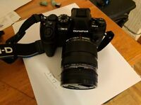 olympus omd em1 mark ii with 12 40 pro lence mint with box
