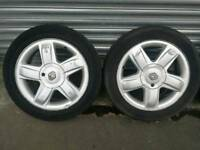 Renault Clio alloy wheels