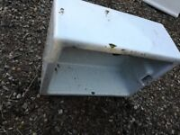 3 large white sink planters for sale