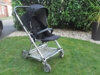 Urbo Pushchair/travel system Mamas & Papas very good condition with car seat, adapters & rain cover