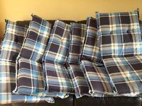 Garden seat cushions