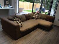 DFS Corner Sofa. **SOLD**