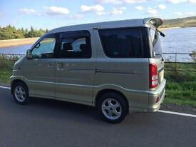 Toyota Sparky 7 seater possible little camper