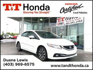 2015 Honda Civic Touring * Local car, No Accidents, NAVI* *