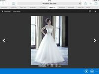 Wedding dress Suzanne Neville designer