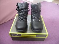 Brand New Gelert Leather Walking Boots Childrens UK Size 4 Boys Girls