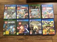 Mixed PS4 & Xbox games plus lego dimensions starter set