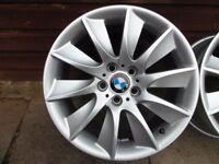 "Set Genuine BMW 18"" Alloy alloys wheels"
