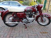 Ariel Huntmaster 650cc 1957