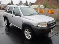 03 LAND ROVER FREELANDER 5DR SW 2.0 TD4 AUTO KALAHARI LEATHER TOW BAR SUNROOF DELIVERY PX SWAPS