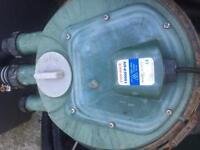 Pond pressure filter
