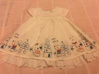 Baby Girls Summer Dress, 9-12 months, Florence & Fred