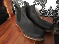 Barbour mans boots size 10