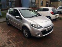 2013 Clio Dynamique Tomtom 16V 1.2 petrol Low Mileage 33.700, FSH, New12 MOT , £3350