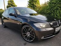 2007 BMW 330D AUTO *HEATED LEATHER*FULL MOTLIKE 320D PASSAT GOLF A3 A4 MONDEO FOCUS ASTRA M SPORT A6