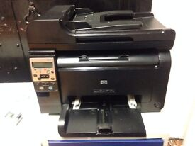 PRINTER + COPY + SCAN : HP LaserJet Pro 100 M175nw Color