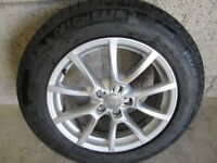 -- GENUINE AUDI Q 5 JEEP 18 INCH ALLOYS + TYRES --