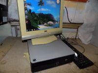 hp dc5850 flat pc. windows 7 pro