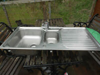 Stainless Steel Dual Sink